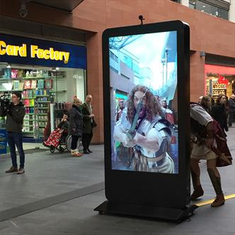 Outdoor Digital Signage Hire